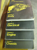 1973 FORD SHOP MANUALS( MUSTANG/COMET/ TORINO) & MORE