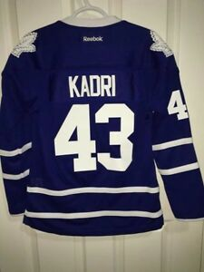 KADRI LEAFS HOCKEY JERSEY WOMENS SMALL