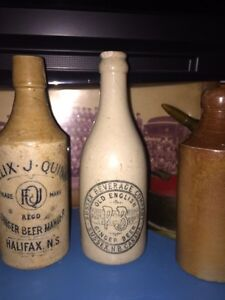 Old  ginger beer from Sussex NB