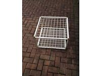 SQUARE STAND FOR SALE IDEAL TO HOLD BRUSHES MOPS DUSTERS ETC **