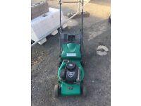 Petrol lawnmower Qualcast 149cc starts first time