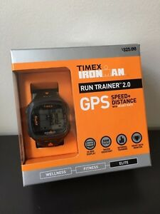 Timex Ionman run trainer GPS watch - brand new!