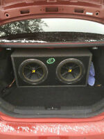 Kicker Subs two 12 inch