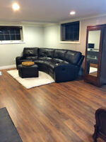 LARGE BASEMENT ROOM FOR RENT... Available JUNE 01/15.