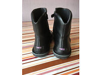 Camper leather ankle boots (worn twice) size 3