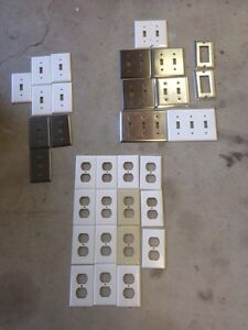 Switch plates and outlet covers