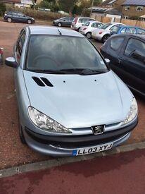 Peugeot 206cc 2003 Reg