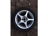 Toyota MR2 Mk3 front rear wheel and tyre