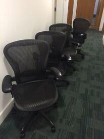 Herman Miller Aeron x6 Chairs