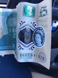 Ak 47 5 pound note