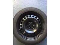 Vauxhall Mokka Spare wheel.