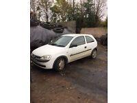 03 Vauxhall Corsa