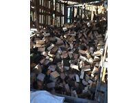 Cut & split seasoned hard wood logs for wood burning stove & open fires
