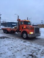 Peterbilt 10 roues Towing Plate forme 28'