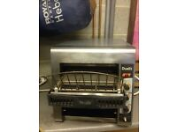 Dualit commercial catering toaster, zodiac and rowlett rutland
