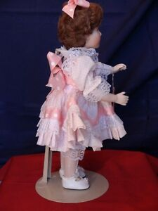 Meggan's Collectors Canadian Procelain Handmade Doll Partytime London Ontario image 7