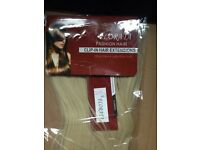 Brand new sealed never opened lightest Blonde hair clip on hair extensions