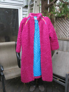 Vintage 1970's Designer OLLY coat ~ fun, fuzzy, and just fab!