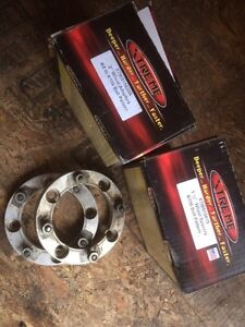 Wheel spacer and adaptors $60 per set