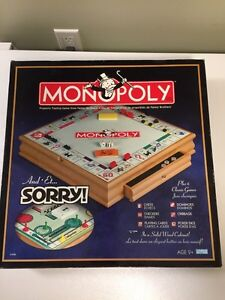 Monopoly 8 in 1 deluxe board game.  Kitchener / Waterloo Kitchener Area image 1