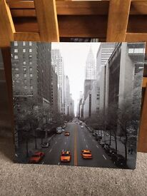 Yellow Taxi Canvas