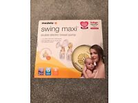Medala swing maxi double electric breast pump.....never been used.