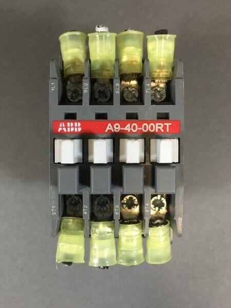 Abb Contactor Control Relay A9-40-00RT 110 V Coil - Contactor