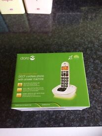 Doro PhoneEasy 105wr - DECT cordless phone with answer machine