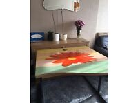 Upcycled home:office desk