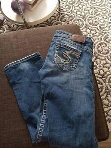 Silver jeans size 29 waist 31 leg