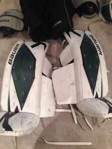 Senior men's goalie gear 34+1