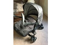 Silver Cross 3D travel system, with car seat BRAND NEW & isofix base