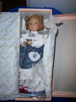 Vintage Doll collection (2 Knowles) & sad clown