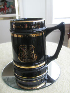 GORGEOUS OLD VINTAGE ['66] QUEEN'S UNIVERSITY COLLECTOR'S STEIN