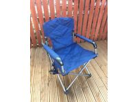 Camping chairs x 2 - folding and in bags