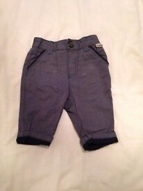 Ted baker chinos 0-3 months