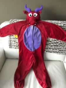 Kid's Dragon Costume 4-6x