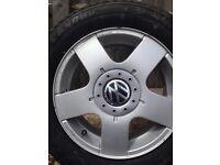 4x VW Touran Passat Golf Tires (tyres)