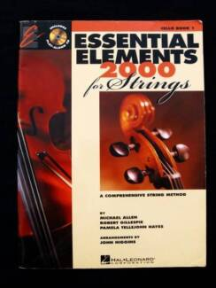 Cello - Book 1 - Essential Elements 2000 + CD