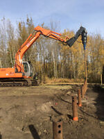 CERTIFIED SCREW PILE INSTALLER. CALL ROSS FOR A QUOTE