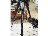 Manfrotto carbon fibre tripod and mount