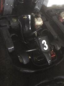 Honda gx160 biz go kart