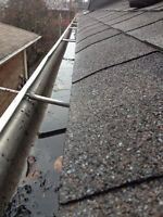 GUTTER INSTALLATIONS AND REPAIRS