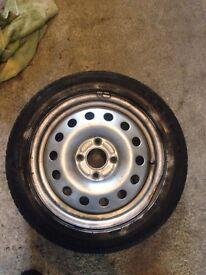 Ford Fiesta Steel Wheel 195/50 R15