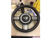 Mini R50-R53 Three spoke sport steering wheel