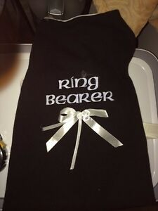 XL dog outfit ring bearer new see details
