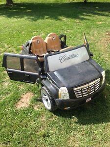12V Black Cadillac Escalade