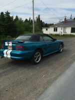 1995 Ford Mustang TEAL Convertible
