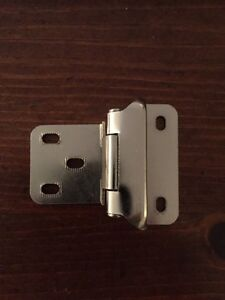 New Cabinet Hinges