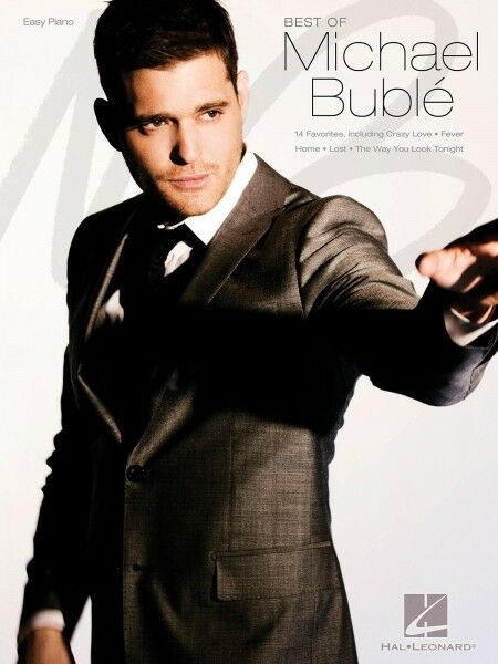 Best of Michael Buble Sheet Music Easy Piano Book NEW 000307144